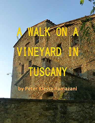 A walk on a vineyard in Tuscany