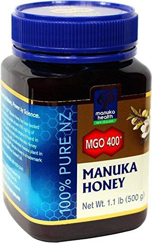 Manuka Health MGO 400+ Manuka Honey (20+), 500gm - 100% Pure New Zealand Honey