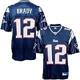 Tom Brady Jersey: Reebok Navy Replica #12 New England Patriots Jersey