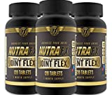 Joint-Glucosamine-Chondroitin-Anti-inflammatory-Supplement Triple Strength Joint Flex - Extra-strength Glucosamine Chondroitin MSM with Vitamin D - Joint Support - Anti-inflammatory Properties - Natural Joint Support Pain Relief by NutraFX - 360 Tabs