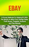eBay: 5 Proven Methods for making $1,000+ a Month selling on eBay (selling on ebay, how to sell on ebay, ebay selling, ebay business, ebay, ebay marketing,)