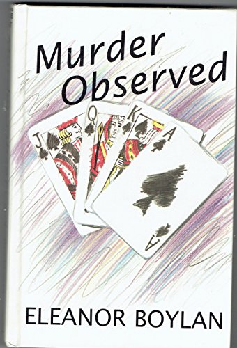 Murder Observed (Thorndike Press Large Print Basic Series)