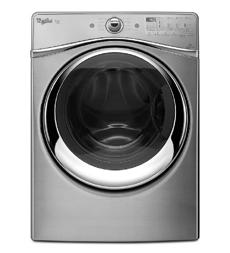 Whirlpool Wed96Heau Duet 7.4 Cu. Ft. Stainless Look Stackable With Steam Cycle Electric Front Load Dryer front-251136