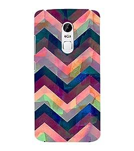 EPICCASE Angular Pattern case Mobile Back Case Cover For Lenovo Vibe X3 (Designer Case)