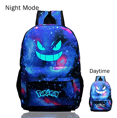 pokemon-go-luminous-backpack-galaxy-rucksack-gengar-travel-shoulder-school-bags-purple