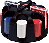 Bicycle Carousel Poker Set, 200 2-Gram Poker Chips and 2 Decks of Bicycle Cards