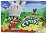Brothers-All-Natural Mickey Mouse Clubhouse Pineapple Crisps, 0.53-Ounce Pouches (Pack of 24)
