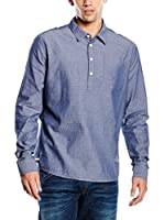 Pepe Jeans London Camisa Hombre Whitman (Azul Oscuro)