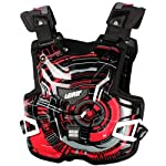 Leatt Adventure Lite Tech Adult Chest Protector Off-Road/Dirt Bike Motorcycle Body Armor - Red / One Size
