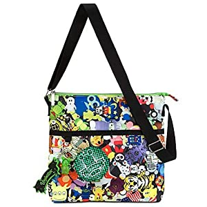 Disney Vinylmation Nylon Cross Body or Shoulder Tote Bag - Disney Parks Exclusive
