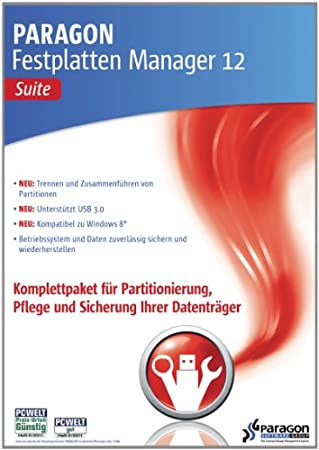 Paragon Festplatten Manager 12 Suite [Download]