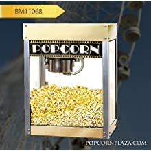 Benchmark 11068 Hollywood Premiere Popcorn Machine, 120V, 1130W, 9.4A, 6 oz Popper