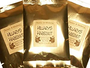 Hunter & Hilsberg Hillarys Hazelnut coffee Sampler Pack, 12-Ounce