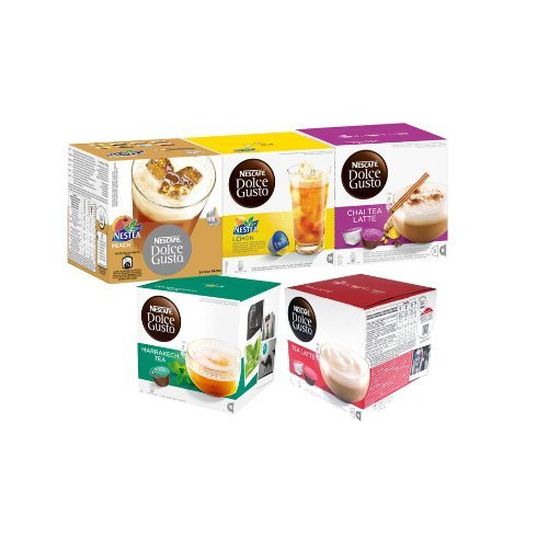 Nescafe Dolce Gusto 30 Capsule Tea Time Set
