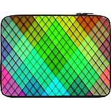 Snoogg Rainbow Diamond Pattern 2689 13 To 13.6 Inch Laptop Netbook Notebook Slipcase Sleeve