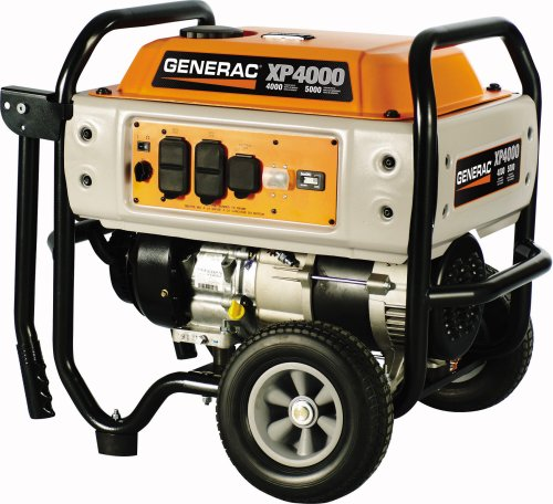 Generac 5604 XP Series XP4000 5,000 Watt 220cc OHV Portable Gas Powered Generator