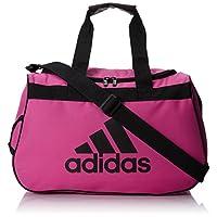 adidas Diablo Duffel Bag, 11 x 18.5 x 10-Inch, Intense Pink/Black