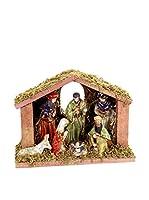 Decoracion Navideña Elemento Decorativo 8 Piezas Nacimiento