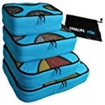 Shacke Pak - 4 Set Packing Cubes - Tr...