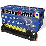 1x kompat. Toner-Kassette Color Yellow/Gelb, ersetzt HP CB542A