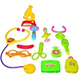 Dazzling Toys Little Doctors Kit With Adorable Accessories - 12 Piece Set