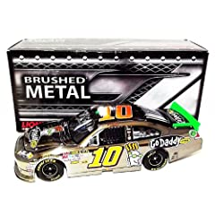 Buy *AUTOGRAPHED2012 Danica Patrick #10 GoDaddy Racing BRUSHED METAL (Lionel) 1 24 NASCAR SIGNED Diecast Car (#352 of 464) by Trackside Autographs