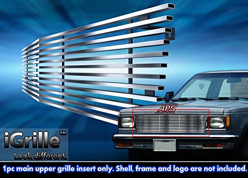 Stainless Steel eGrille Billet Grille Grill For 1982-1990 Chevy S-10 Pickup/Blazer/Jimmy (S 10 Grill compare prices)