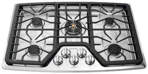 "Frigidaire Fpgc3087Ms Professional 30"" Stainless Steel Gas Sealed Burner Cooktop"