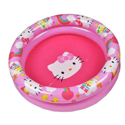 Aqua Leisure Hello Kitty 2 Ring Pool - 1