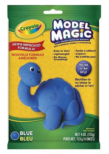 16 Pack CRAYOLA LLC FORMERLY BINNEY & SMITH MODEL MAGIC 4OZ BLUE