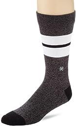 Stance Men\'s Sequoia Socks, Black, Large/X-Large