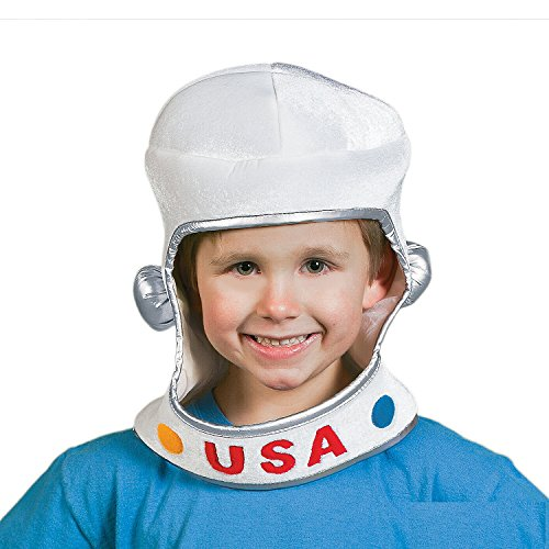Soft Fabric Child Size Astronaut Helmet