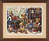 Gold Collection Buttons 'n Bears Counted Cross Stitch Kit-16