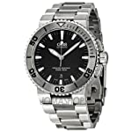 Oris Aquis Date Dark Grey Dial Stainless Steel Mens Watch 733-7653-4153MB from Oris