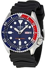 Comprar Seiko  SKX009K1 - Reloj de automático para hombre, con correa de goma, color negro