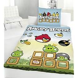 Angry Birds lenzuola Game, 135 x 200 cm