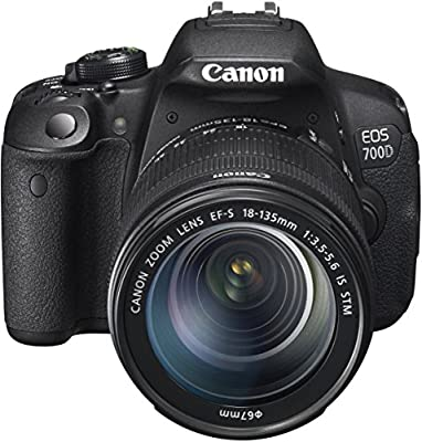 Canon EOS 700D SLR-Digitalkamera (18 Megapixel, 7,6 cm (3 Zoll) Touchscreen, Full HD, Live-View)