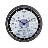 """CafePress - Circle of Fifths Wall Clock - Unique Decorative 10"""" Wall Clock"""