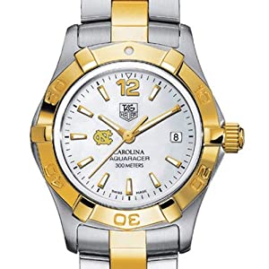 UNC TAG Heuer Watch - Ladies Two-Tone Aquaracer Watch at M.LaHart by TAG Heuer