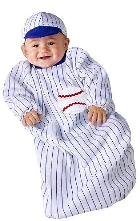 Boys Baseball Halloween Bunting Costume