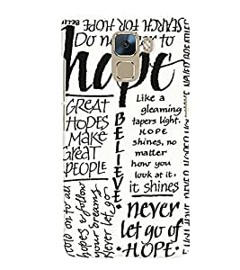 Huawei Honor 7 MULTICOLOR PRINTED BACK COVER FROM GADGET LOOKS