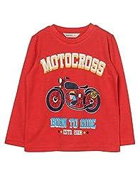 Beebay Motorcross Bike Print T-Shirt (B0815202702612_Rust_6Y)