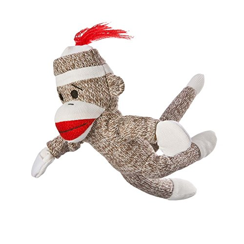 Sock Monkey Flying Screaming Slingshot Toy at 'Sock Monkeys'
