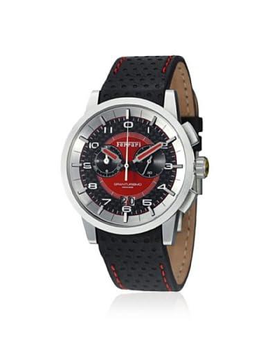 FERRARI Men's FE11ACCCPFC Black/Red Stainless Steel Watch