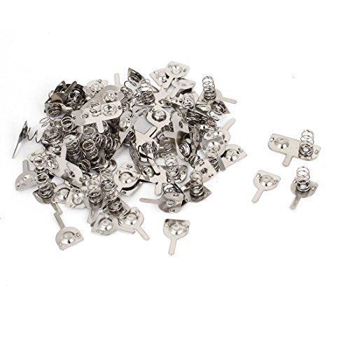 metal-aaa-bateria-conexion-resorte-laminacion-plato-tono-plateado-22-piezas