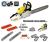 "20"" Petrol Chainsaw Complete With Bar, Chain & Bar Cover"