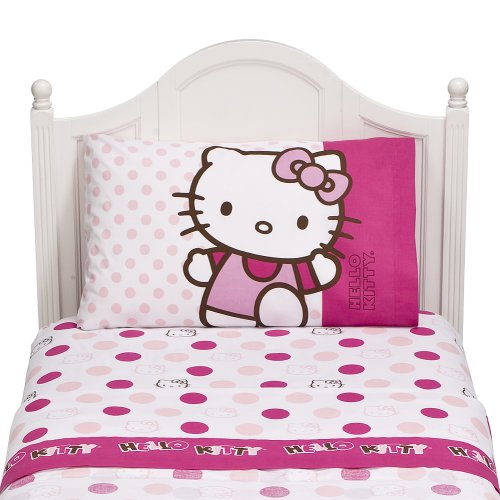 Hello Kitty Sheet Set – Twin
