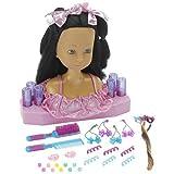 Dream Dazzlers salon Styling Head doll- African American