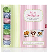 Mini Delights Two Recipe Books
