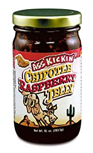 Ass Kickin Chipotle Raspberry Jelly - A Delicious And Unique Snack Spread Chipotle Raspberry Flavor Brings Out The Best In Any Snack Time Treat from Southwest Specialty Foods inc.
